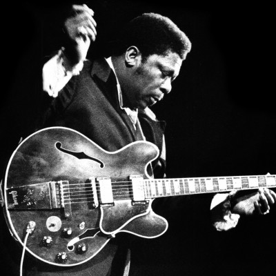 B. B. King performs live at the Concertgebouw