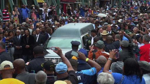B.B. King Funeral Procession Memphis