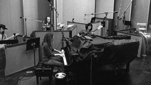 Carole King at piano