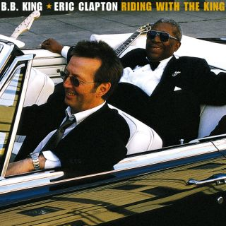 "Cover of the Grammy Award-winning ""Riding with the King"" album (2000)."