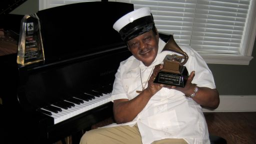 Fats Domino at home