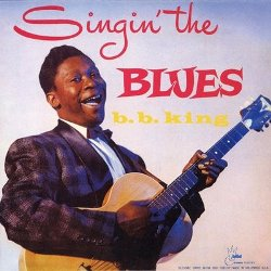 """Cover of B.B. King's 1956 album """"Singing the Blues."""""""