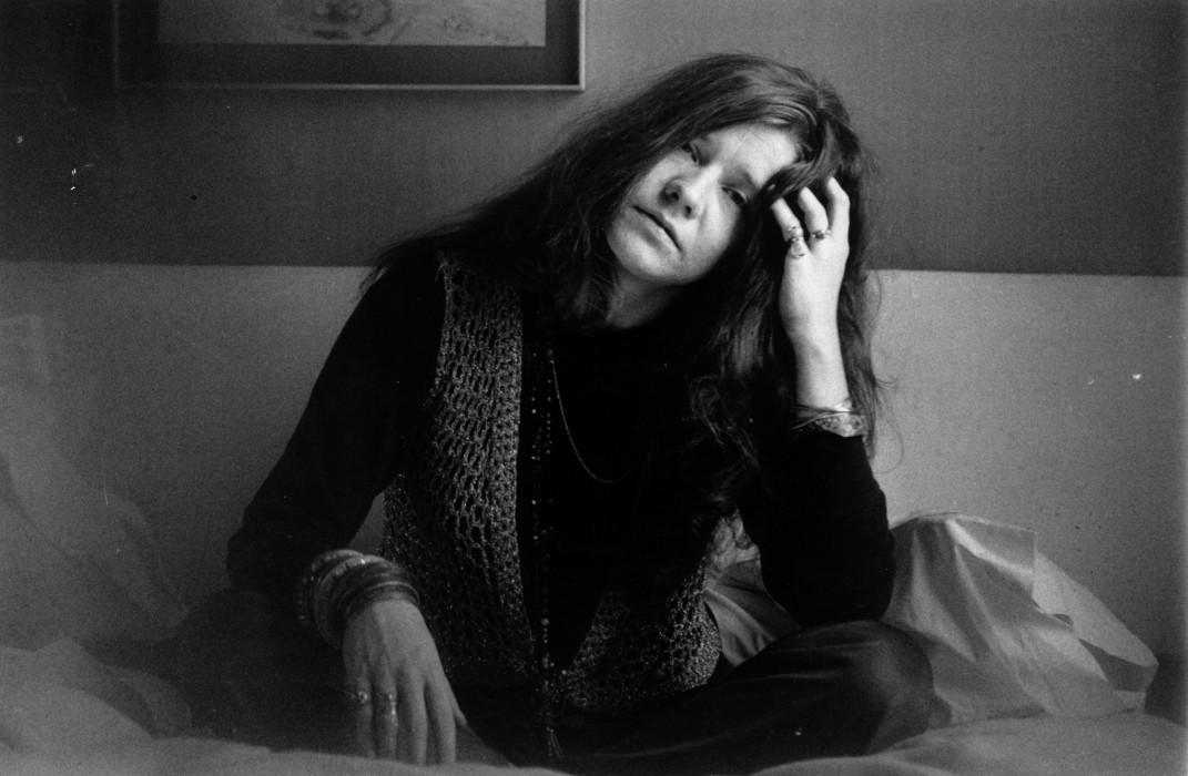 Janis Joplin on April 5, 1969