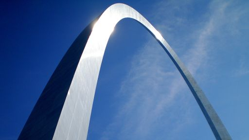 Eero Saarinen's Gateway Arch Completed Today in 1965