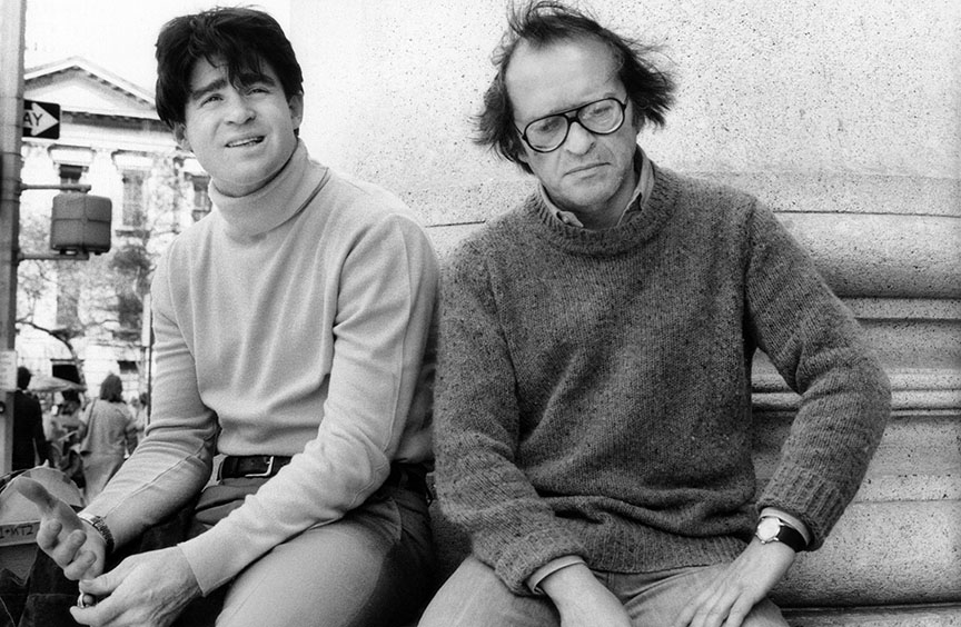 PRINCE OF THE CITY, from left, Treat Williams, director Sidney Lumet, on location in New York, 1981, ©Orion Pictures. Courtesy: Everett Collection