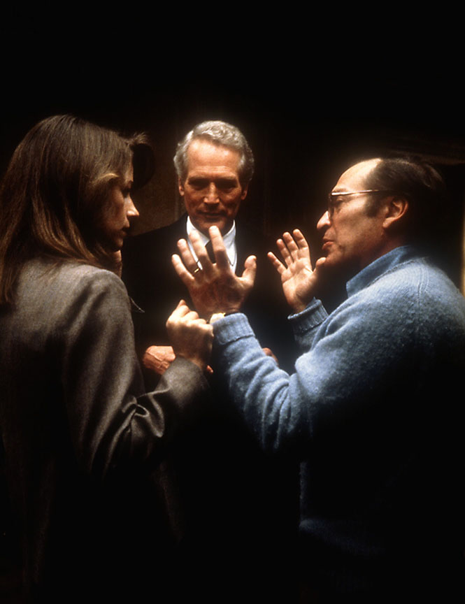 VERDICT, Charlotte Rampling, Paul Newman, Sidney Lumet, 1982, directing the actors