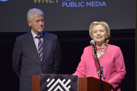 President Clinton and Secretary Clinton Honor Angelou at Schomburg Screening of Maya Angelou: And Still I Rise