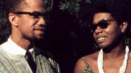Explore the strong friendship between Maya Angelou and Malcolm X in Ghana