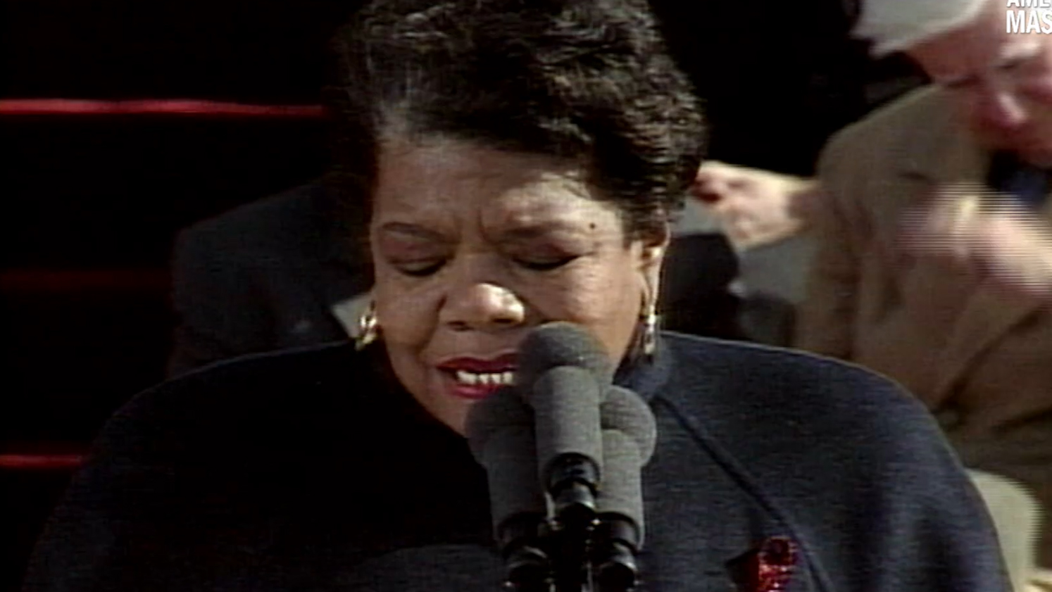 a angelou and still i rise about the film american masters learn why bill clinton invited a angelou to speak at his inauguration