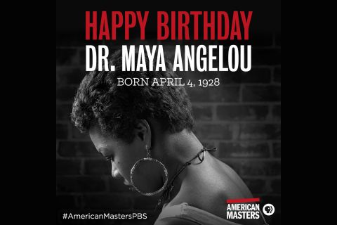 Celebrating Maya Angelou's Birthday