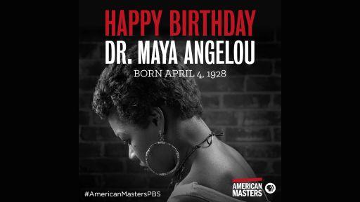 Celebrating Maya Angelou's Birthday