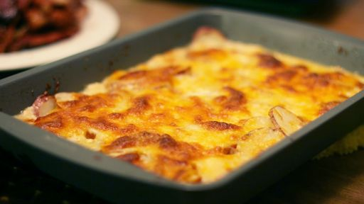 Recipes with Julia Child: Gratin Dauphinois