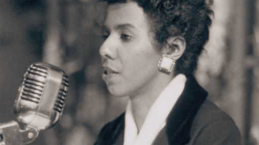 "Clip | Lorraine Hansberry speaks out with ""sighted eyes and feeling heart"" against injustice"