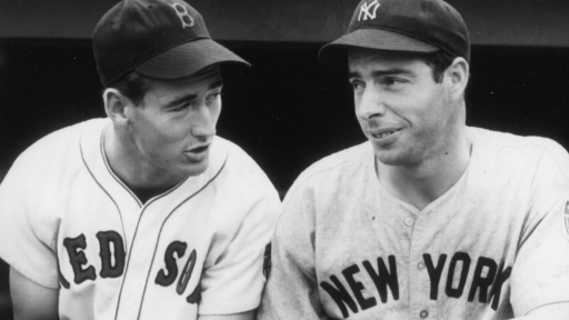 Ted Williams -- Joe DiMaggio and Ted Williams' Friendship (Outtake)