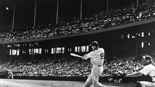 Ted Williams -- Never Before Seen Home Run Footage