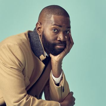 Playwright and actor Tarell Alvin McCraney