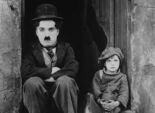 """Chaplin in """"The Kid"""" (1921)"""