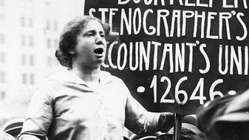 She was one of the most influential leaders of the American labor movement