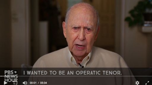 Comic Legend Carl Reiner Would Have Been An Opera Singer But For These Two Reasons
