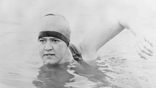 She was the First Woman to Swim Across the English Channel