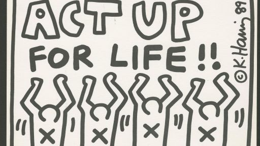 Facing death from AIDS, Keith Haring kept creating