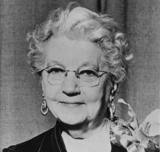 Laura Ingalls Wilder, 1951.