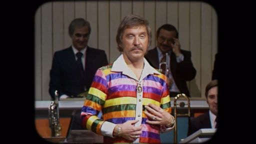 Never Too Late: The Doc Severinsen Story -- The best of Doc Severinsen's eccentric outfits