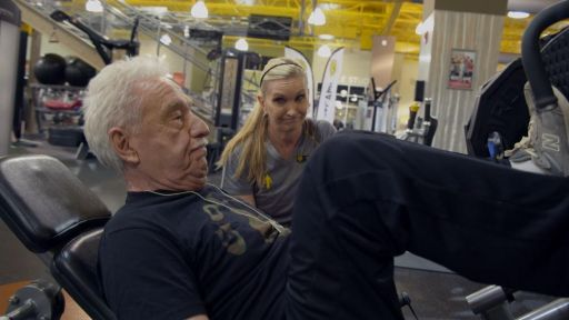 Never Too Late: The Doc Severinsen Story -- Doc Severinsen's fitness routine