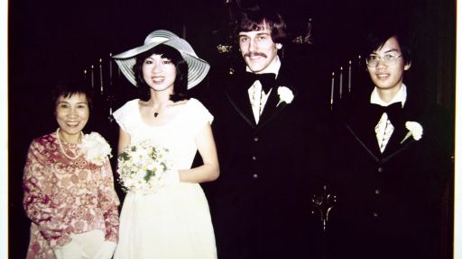 How Amy Tan met her husband Lou