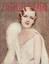 Marilyn Miller on the cover of a Ziegfeld Theatre program