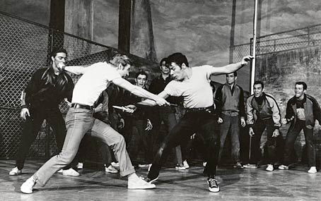 Image result for the musical west side story hit broadway in 1957