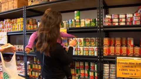 Families Facing Hunger Find Refuge After Sandy
