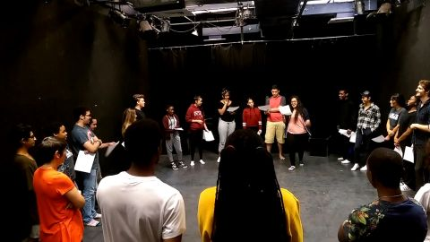 Adler Youth Group brings NYC High Schoolers to Center Stage