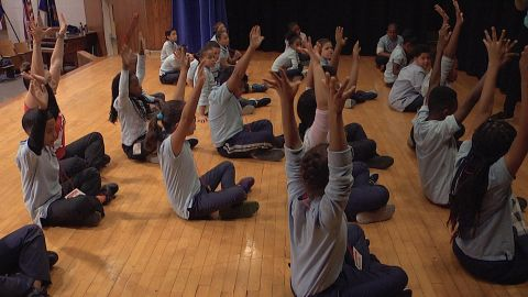 Arts program is giving Harlem kids something to dance about