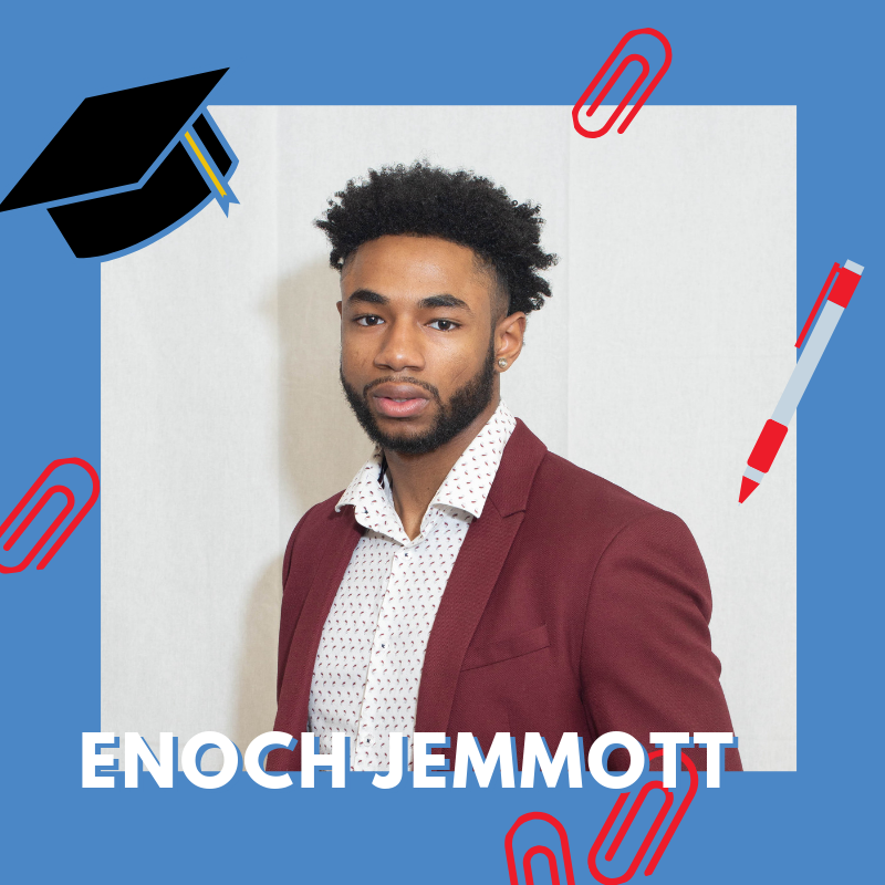 "Enoch Jemmott on ""Life After High School"""