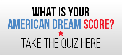 What is your American dream score?