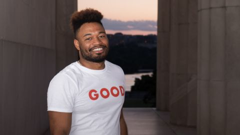 Danny Wright, Co-Founder and Chief Strategy Officer of GOOD, is one the hosts for our video series, GOODTalks.