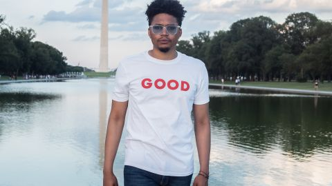 "Darius Baxter, the Co-Founder and Chief Engagement Officer of GOOD, is one of the hosts of the new video series ""GOODTalks"" in partnership with WNET/PBS' Chasing the Dream"