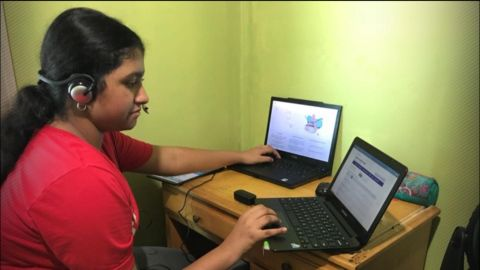 During the pandemic, two sisters, 12 and 13, are teaching coding classes for charity