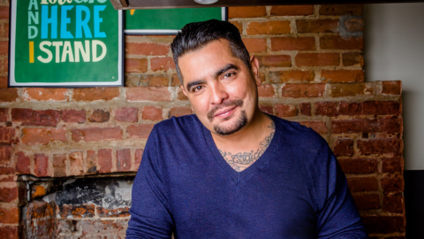 "MasterChef's Aaron Sanchez on Fatherhood and ""Rescuing Your Roots"" Through Food"