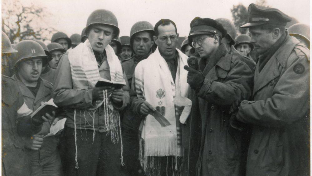 The Jewish GI Service Broadcast Worldwide from Germany
