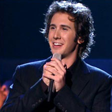 Josh Groban in Concert ~ Singing Sensation