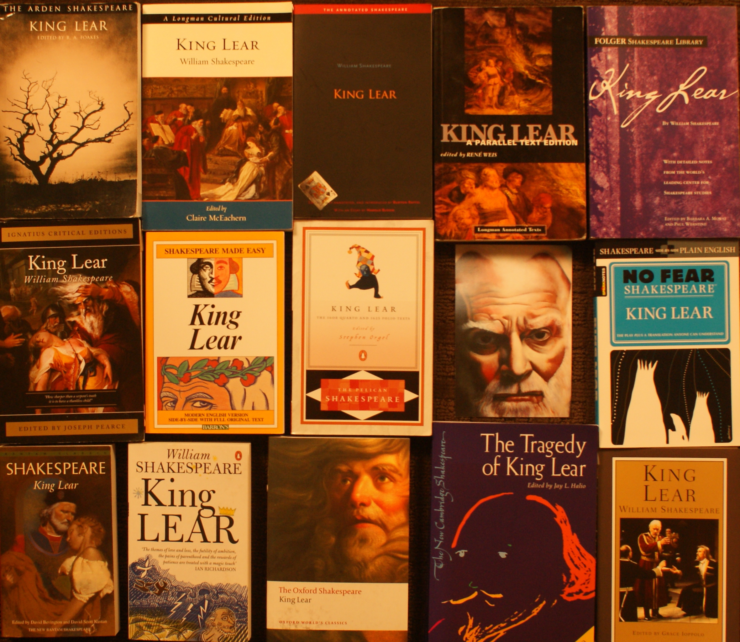 Bad thoughts and judgement in shakespeares king lear