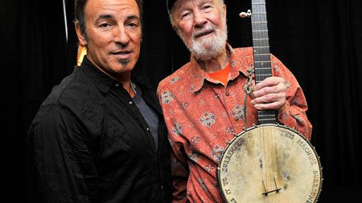 In Memoriam to Pete Seeger. Watch <em>Pete Seeger's 90th Birthday Celebration from Madison Square Garden</em>