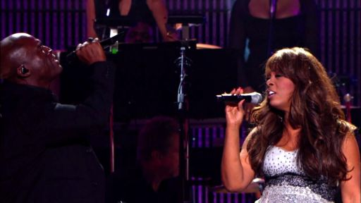 "Seal and Donna Summer sing ""Crazy"""