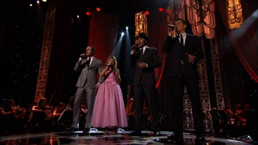 Jackie Evancho and the Canadian Tenors