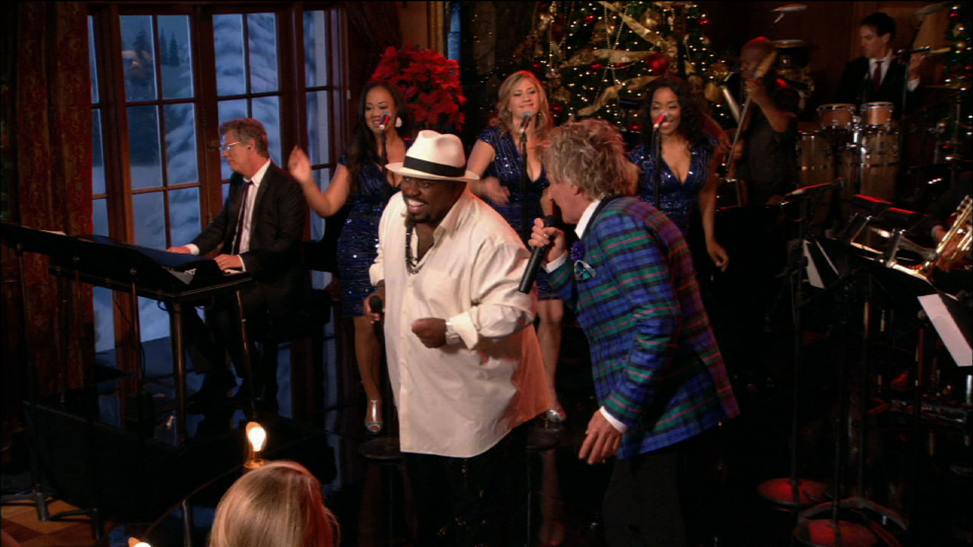 Rod Stewart: Merry Christmas, Baby | Cee Lo Green and Rod Stewart ...