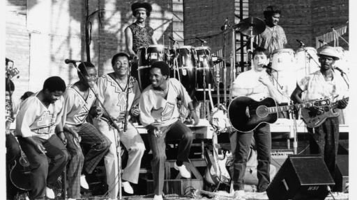 Paul Simon and Lady Smith Black Mambazo