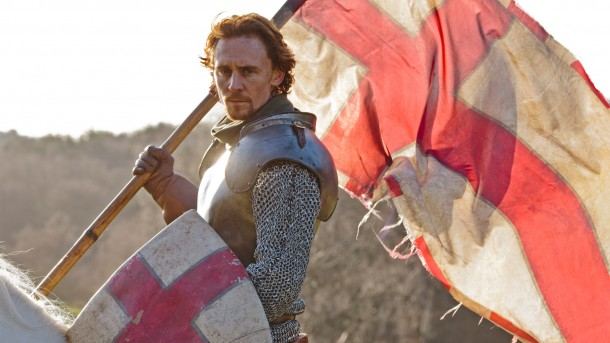 Tom Hiddleston as Henry V