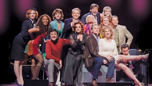 Sondheim's Company cast at Lincoln Center